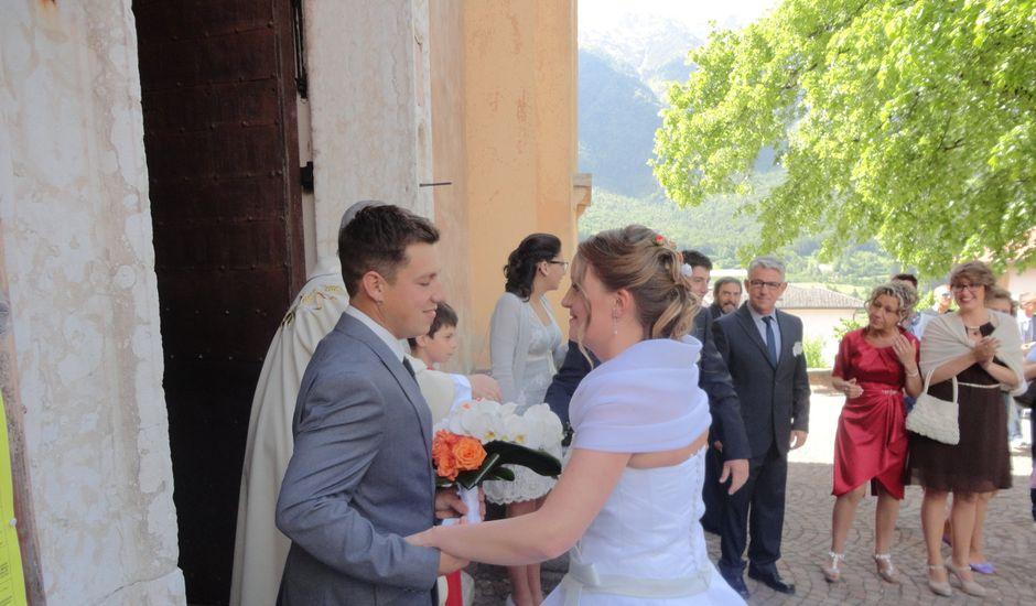 Il matrimonio di Monica e Daniel a Vigolo Vattaro, Trento