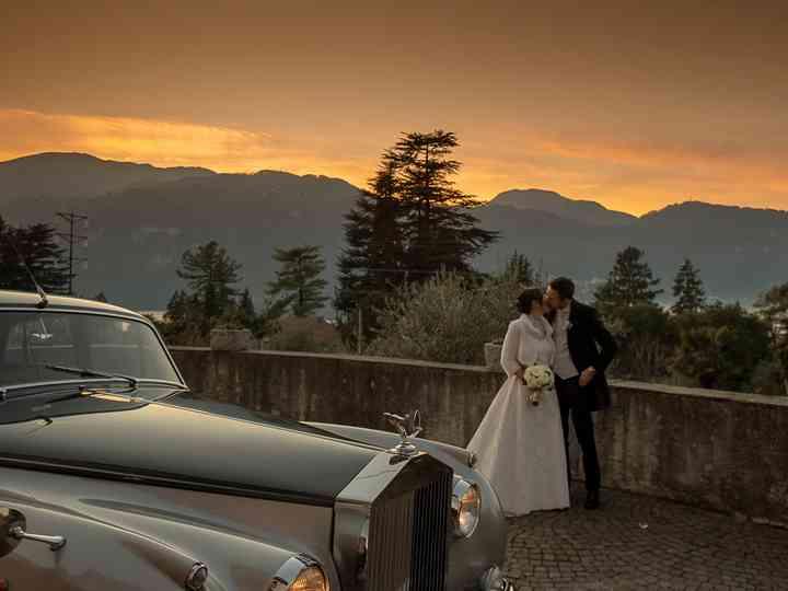 Le nozze di Ingrid e Andrea