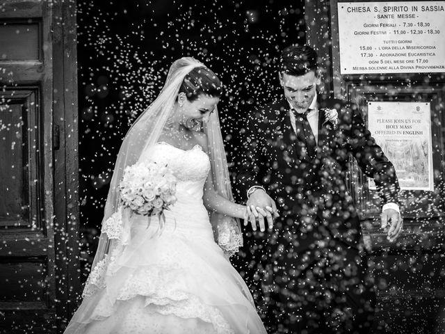 Le nozze di Veronica e Gianmarco