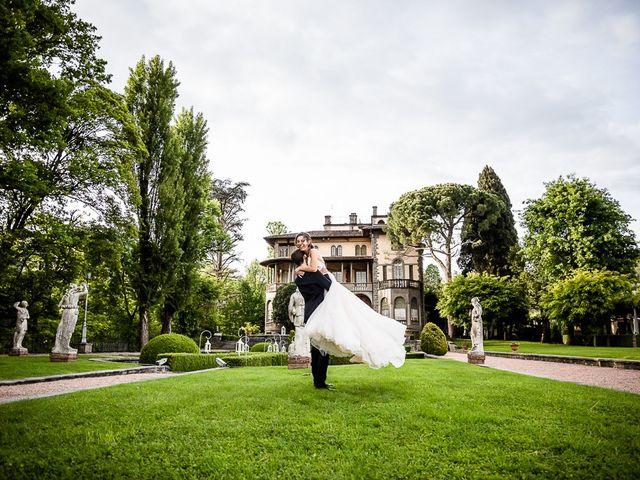 Il matrimonio di Davide e Clarissa a Bergamo, Bergamo 58