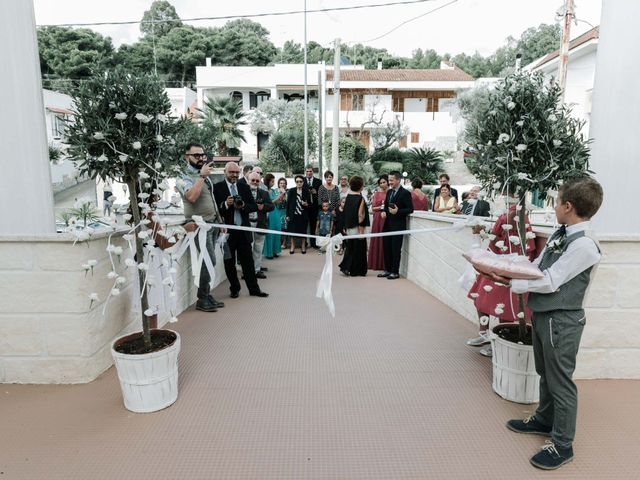Il matrimonio di Sean e Micaela a Gallipoli, Lecce 29