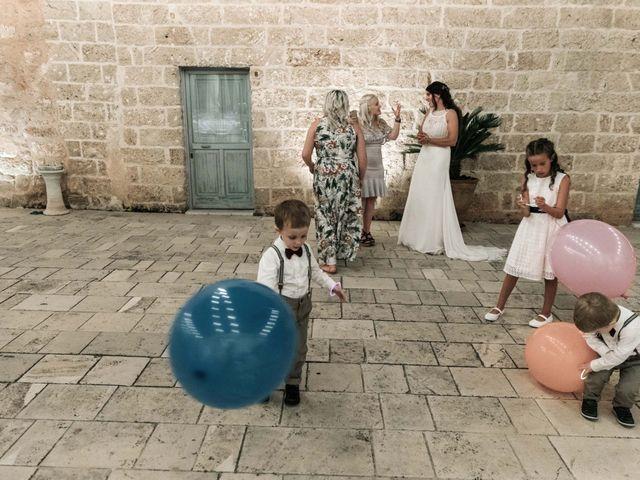 Il matrimonio di Sean e Micaela a Gallipoli, Lecce 81