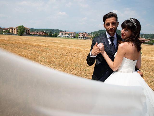 Il matrimonio di Andrea e Luisana a Brusaporto, Bergamo 34