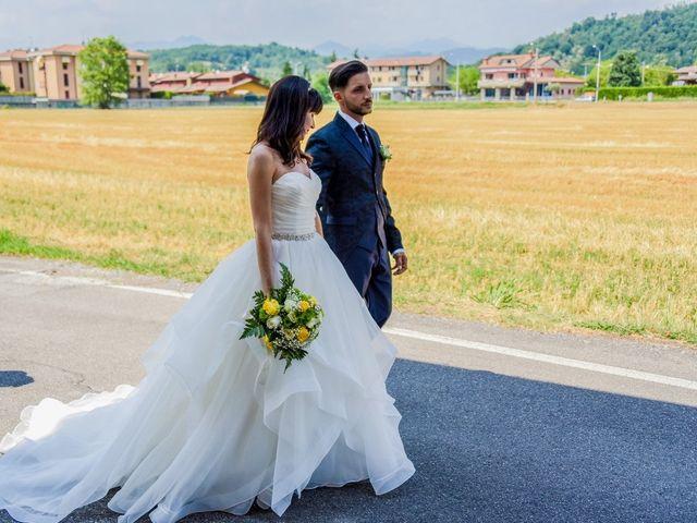 Il matrimonio di Andrea e Luisana a Brusaporto, Bergamo 77
