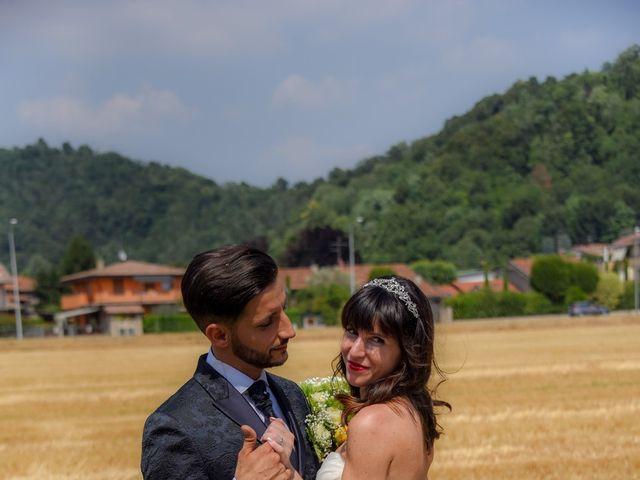 Il matrimonio di Andrea e Luisana a Brusaporto, Bergamo 81