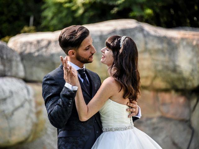 Il matrimonio di Andrea e Luisana a Brusaporto, Bergamo 100