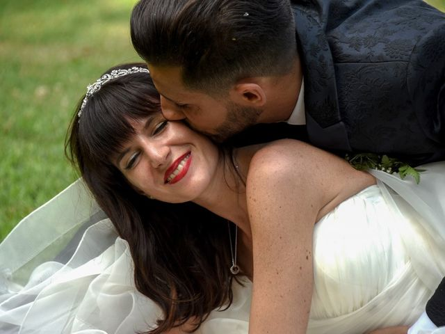 Il matrimonio di Andrea e Luisana a Brusaporto, Bergamo 109