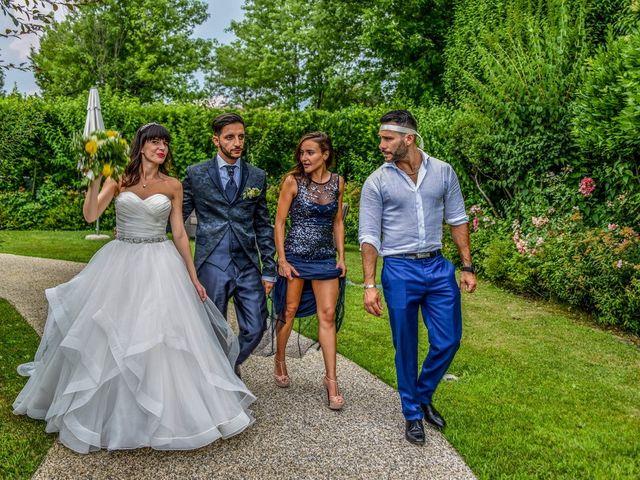 Il matrimonio di Andrea e Luisana a Brusaporto, Bergamo 123