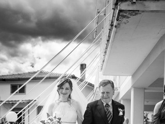 Il matrimonio di Giuseppe e Silvia a Subiaco, Roma 14