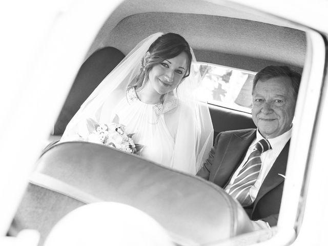 Il matrimonio di Giuseppe e Silvia a Subiaco, Roma 15