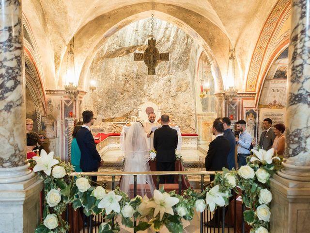 Il matrimonio di Giuseppe e Silvia a Subiaco, Roma 19