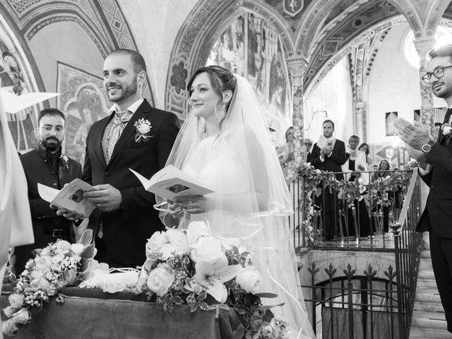 Il matrimonio di Giuseppe e Silvia a Subiaco, Roma 20