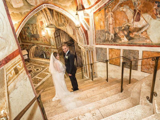 Il matrimonio di Giuseppe e Silvia a Subiaco, Roma 23