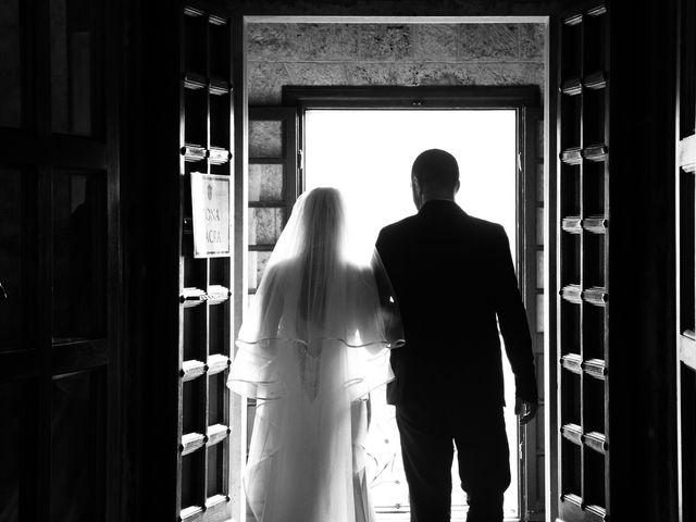 Il matrimonio di Giuseppe e Silvia a Subiaco, Roma 24