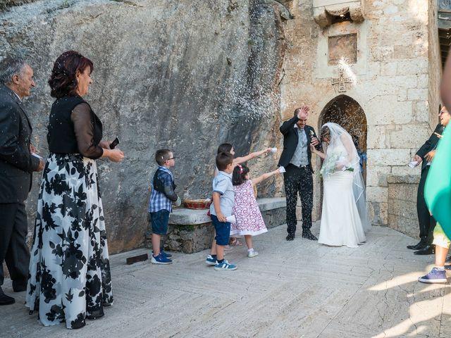 Il matrimonio di Giuseppe e Silvia a Subiaco, Roma 25