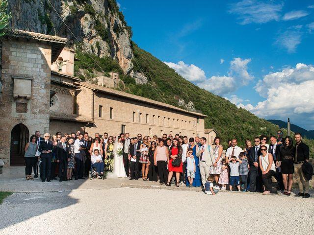 Il matrimonio di Giuseppe e Silvia a Subiaco, Roma 27