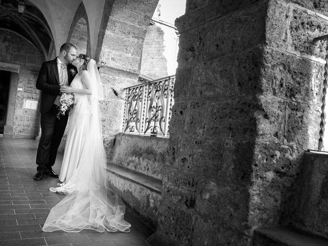Il matrimonio di Giuseppe e Silvia a Subiaco, Roma 29