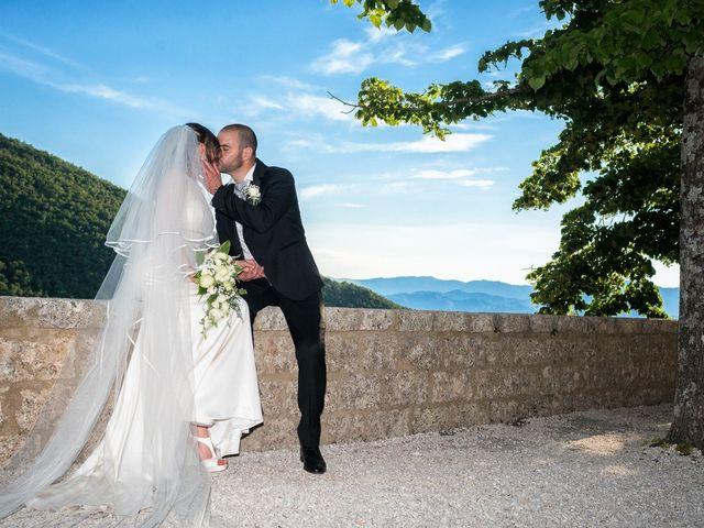 Il matrimonio di Giuseppe e Silvia a Subiaco, Roma 30