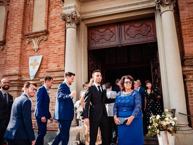 Il matrimonio di Simone e Alessia a Montechiaro d'Asti, Asti 19