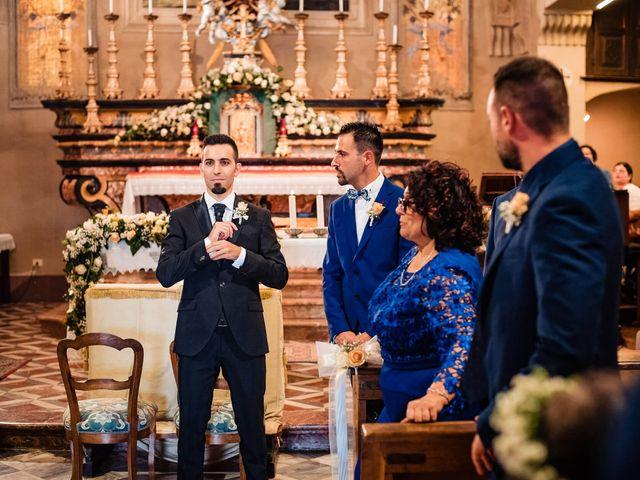 Il matrimonio di Simone e Alessia a Montechiaro d'Asti, Asti 20