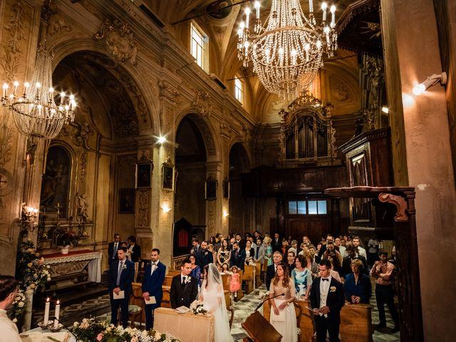 Il matrimonio di Simone e Alessia a Montechiaro d'Asti, Asti 22