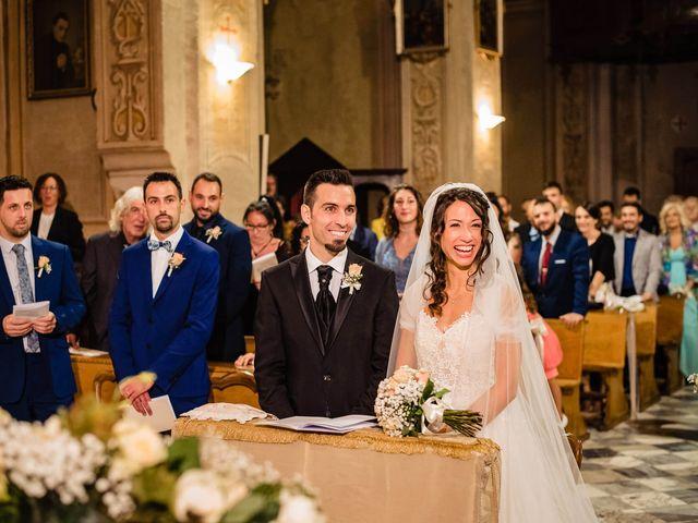 Il matrimonio di Simone e Alessia a Montechiaro d'Asti, Asti 28