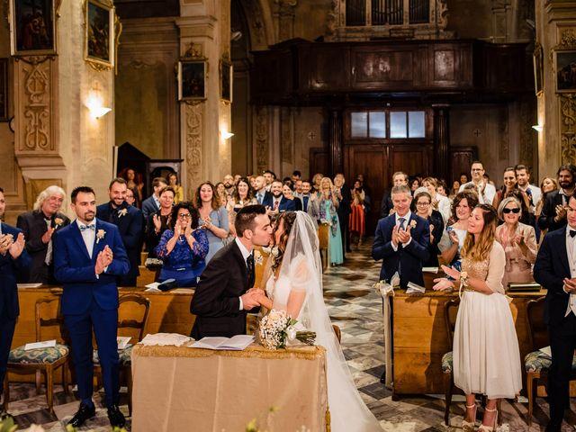 Il matrimonio di Simone e Alessia a Montechiaro d'Asti, Asti 29