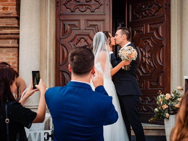 Il matrimonio di Simone e Alessia a Montechiaro d'Asti, Asti 33