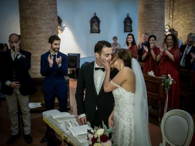 Il matrimonio di Matteo e Silvia a Castell'Arquato, Piacenza 17