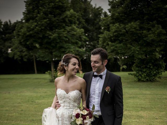 Il matrimonio di Matteo e Silvia a Castell'Arquato, Piacenza 20