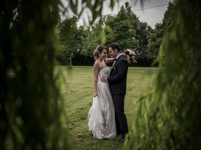 Il matrimonio di Matteo e Silvia a Castell'Arquato, Piacenza 23