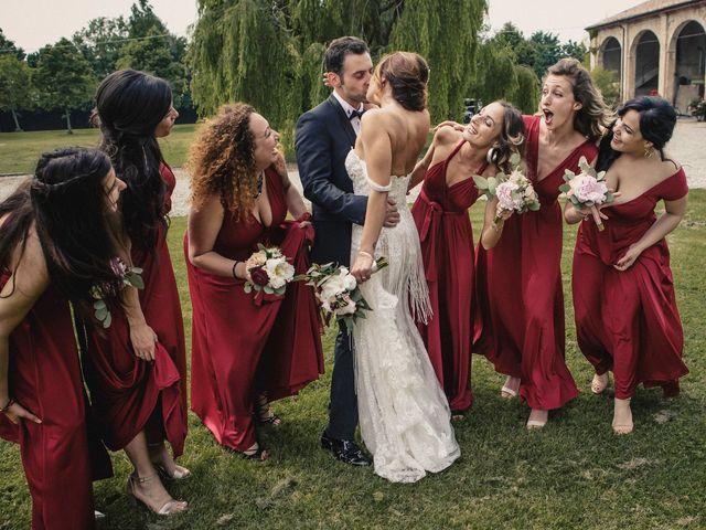 Il matrimonio di Matteo e Silvia a Castell'Arquato, Piacenza 43
