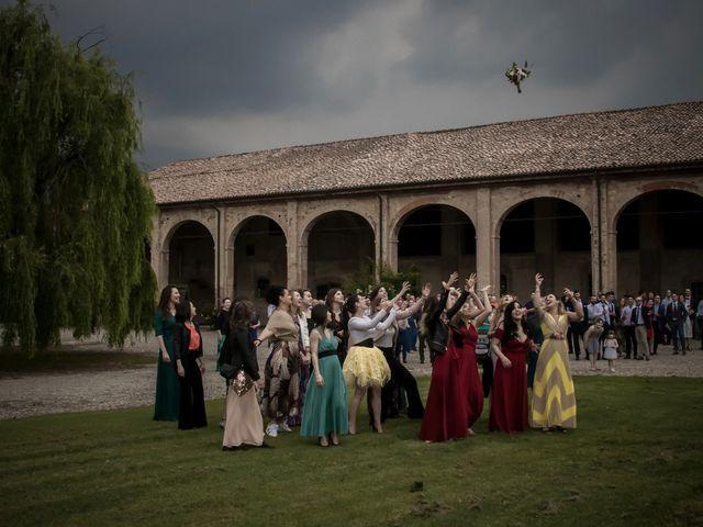 Il matrimonio di Matteo e Silvia a Castell'Arquato, Piacenza 45