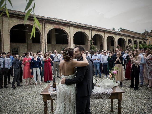 Il matrimonio di Matteo e Silvia a Castell'Arquato, Piacenza 48