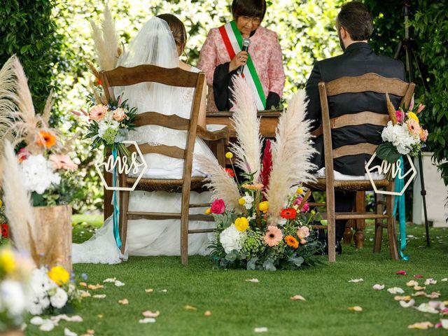 Il matrimonio di Thomas e Luana a Scanzorosciate, Bergamo 113