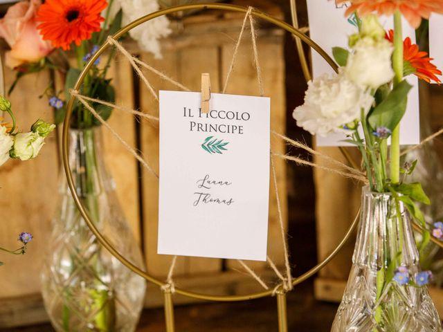 Il matrimonio di Thomas e Luana a Scanzorosciate, Bergamo 137
