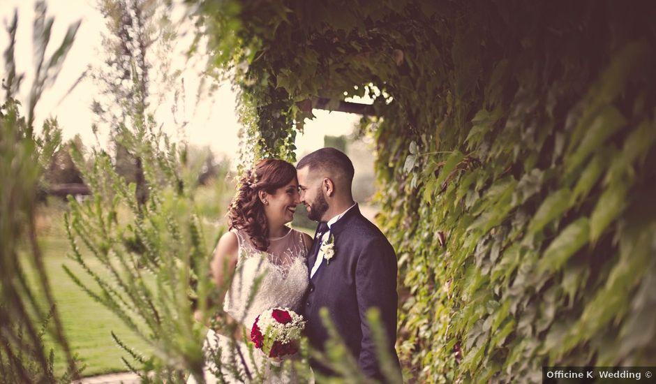 Il matrimonio di Riccardo e Sara a Palestrina, Roma