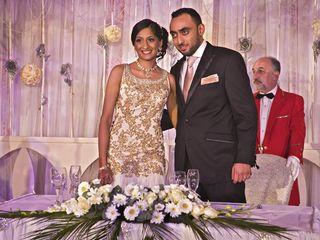 Le nozze di Kavita e Arjun