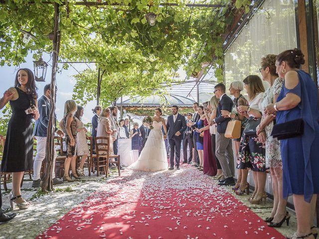 Il matrimonio di Francesco e Laura a Cazzano di Tramigna, Verona 33