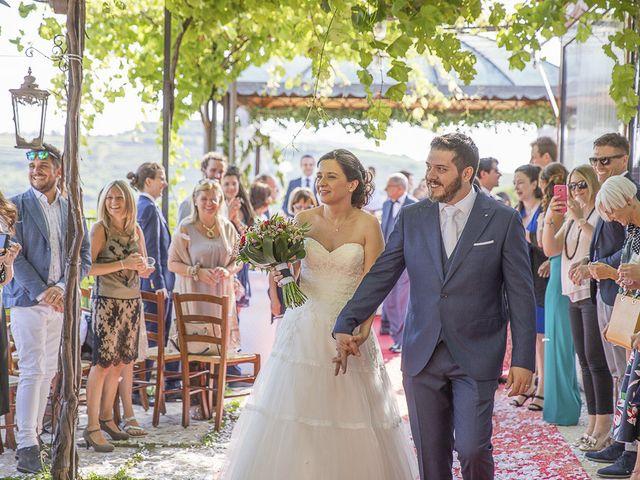 Il matrimonio di Francesco e Laura a Cazzano di Tramigna, Verona 34