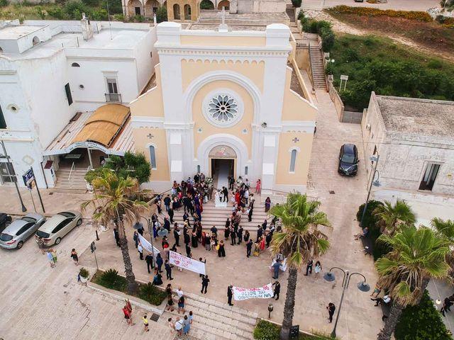 Il matrimonio di Giuliano e Michela a Santa Cesarea Terme, Lecce 62