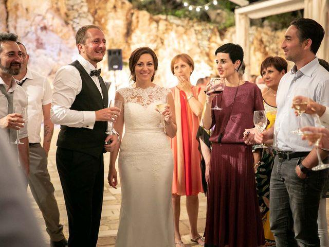 Il matrimonio di Giuliano e Michela a Santa Cesarea Terme, Lecce 87