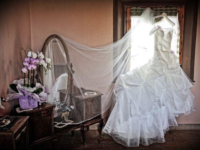 Il matrimonio di Monica e Alessio a Monteriggioni, Siena 4