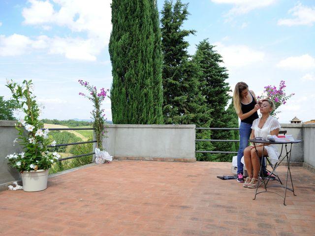 Il matrimonio di Monica e Alessio a Monteriggioni, Siena 7