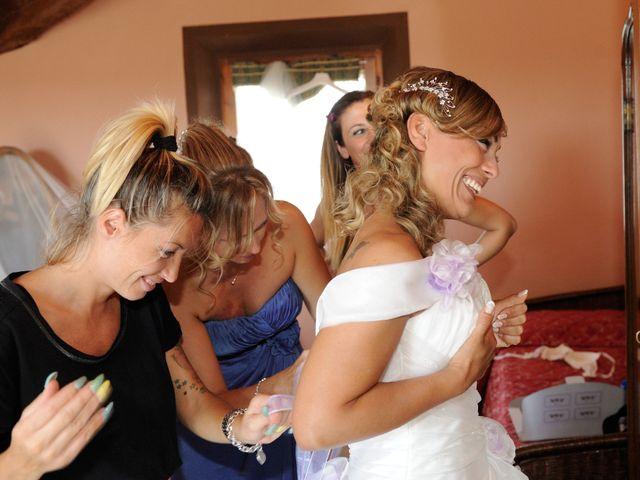 Il matrimonio di Monica e Alessio a Monteriggioni, Siena 17