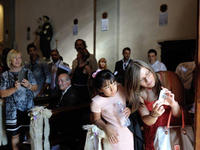Il matrimonio di Monica e Alessio a Monteriggioni, Siena 20