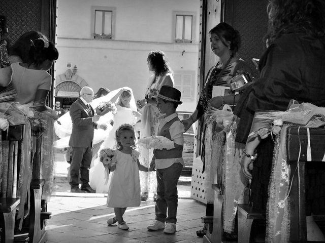 Il matrimonio di Monica e Alessio a Monteriggioni, Siena 21