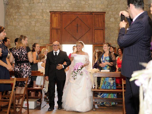 Il matrimonio di Monica e Alessio a Monteriggioni, Siena 22