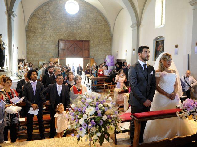 Il matrimonio di Monica e Alessio a Monteriggioni, Siena 23