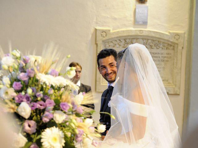 Il matrimonio di Monica e Alessio a Monteriggioni, Siena 24